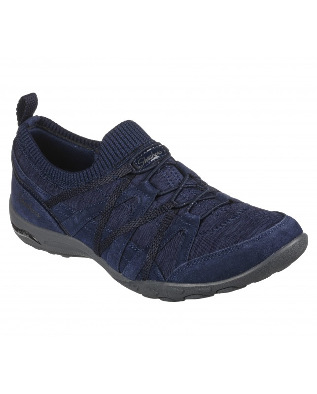 Skechers-WOMENS ARCH FIT COMFY-NVY