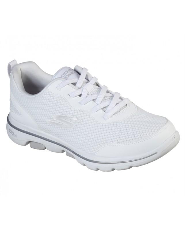 Skechers-WSL WOMENS GO WALK-WHITE