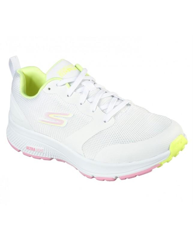 Skechers-WOMEN GO RUN CONSISTENT-WHITE MULTICOLOR