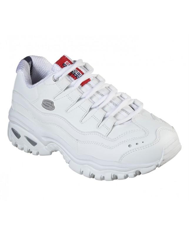 Skechers-WOMANS ENERGY-WHITE