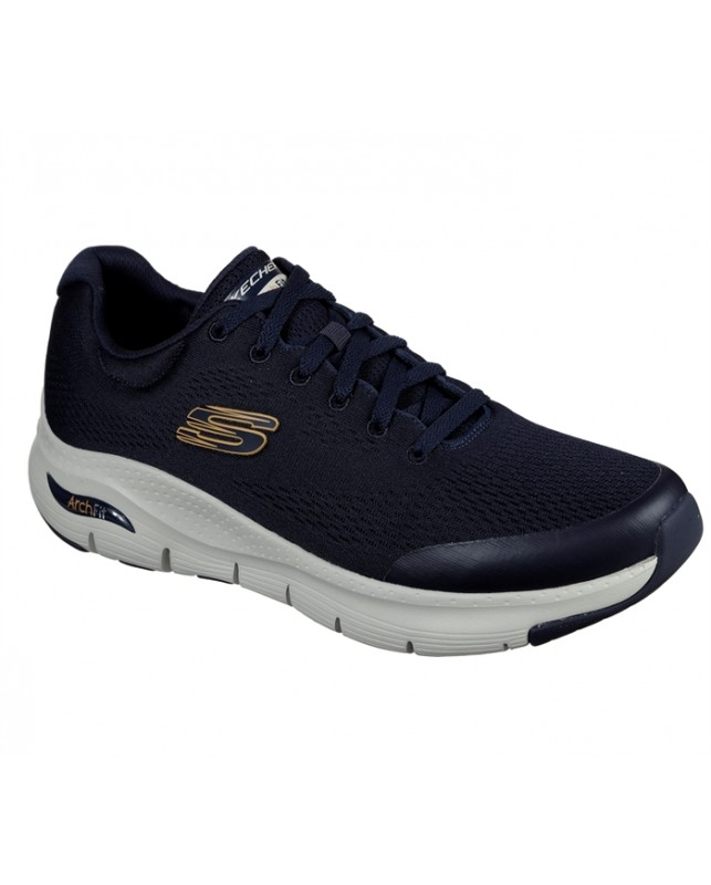 Skechers-NVY MENS ARCH FIT-NAVY