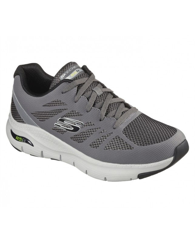 Skechers-MENS ARCH FIT-CHARGE BACK-CCBK