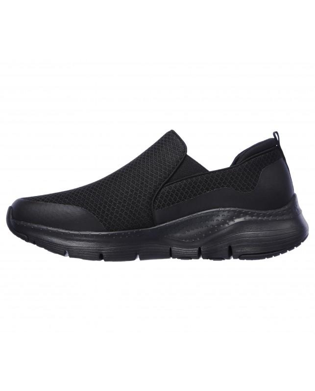 Skechers-ARCH FIT - BANLIN BLACK-BLACK