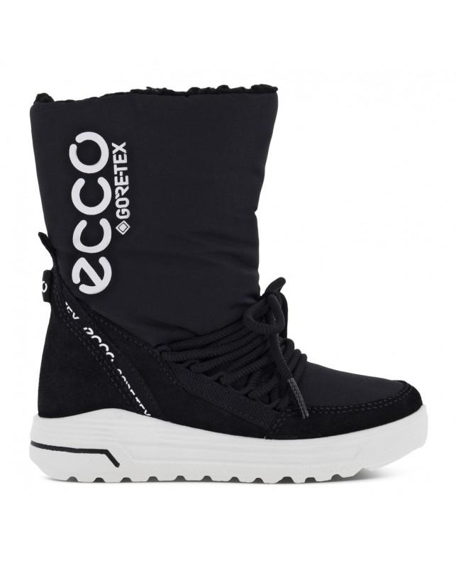 ECCO-URBAN SNOWBOARDER MID-CUT-BLACK