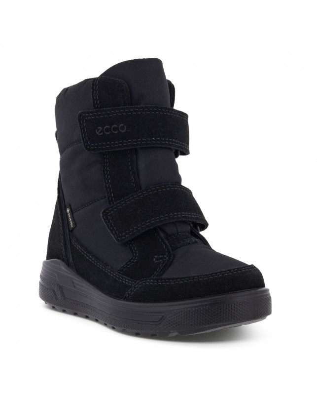 ECCO-SNOWBOARDER MID-CUT BLACK-BLACK