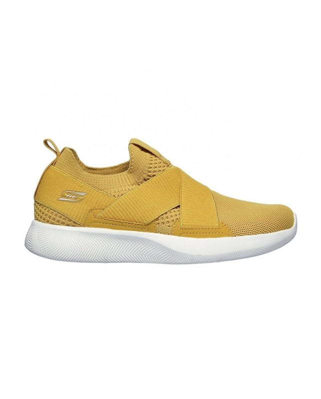 Skechers-WOMENS BOBS SQUAD2-YELLOW