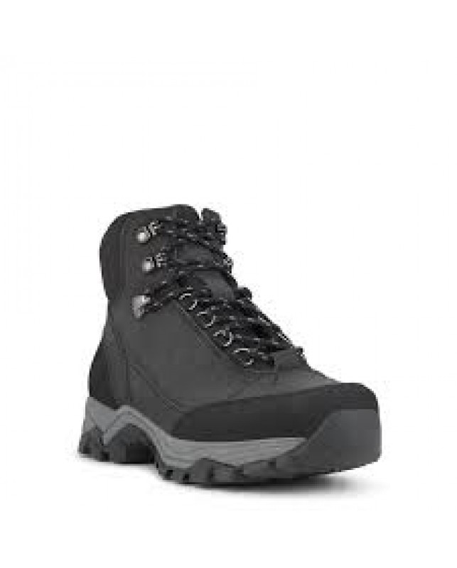GREEN COMFORT-NORTH MENS OUTDOOR BOOT W. LAC-BLACK