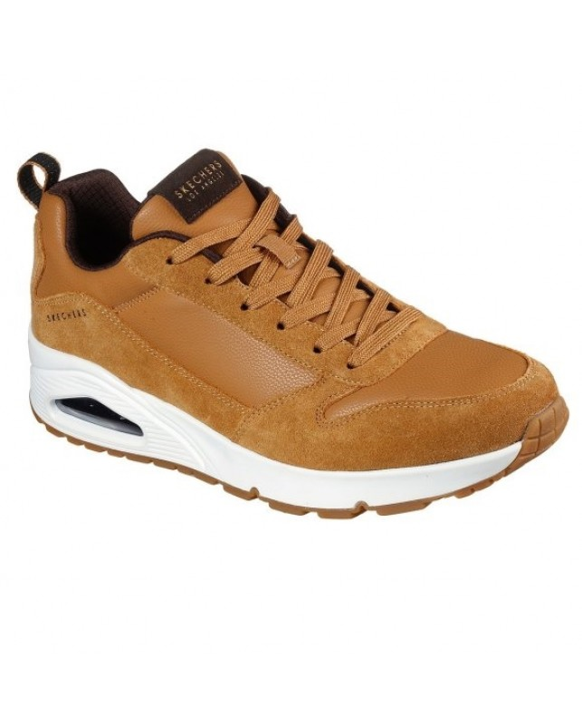 Skechers-UNO STACRE-WHISKEY