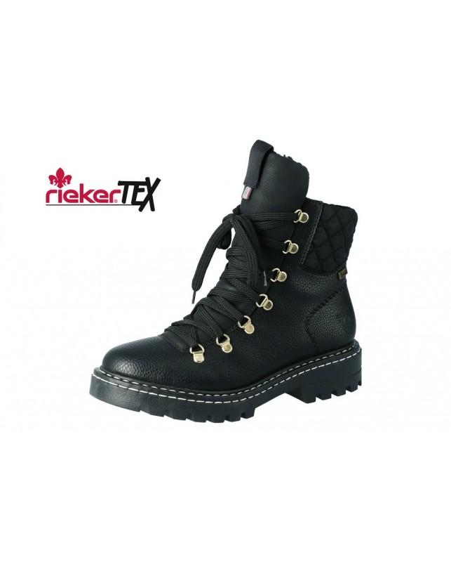 Rieker-KORSIKA/NAMUR/STEPPTEX6-BLACK